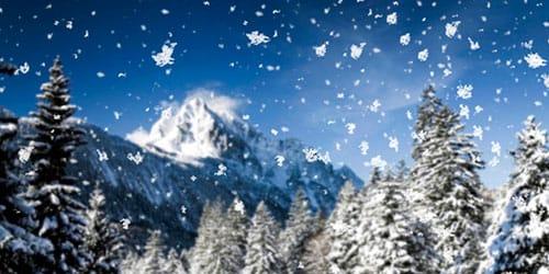 к чему снится падающий снег