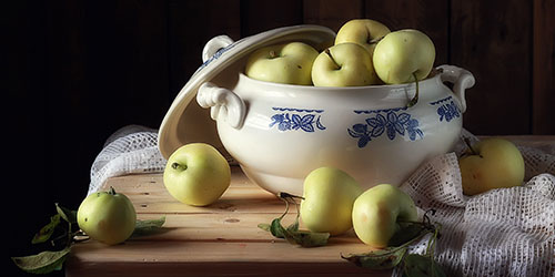 к чему снятся белые яблоки