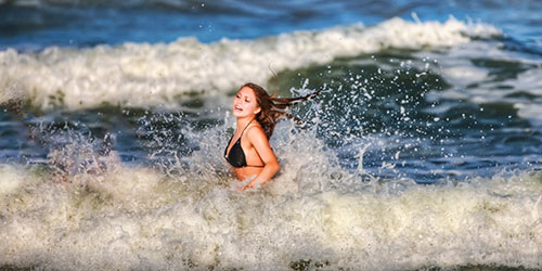 приснилось бушующее море
