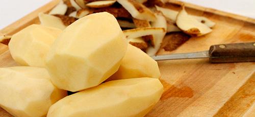 чистить картошку во сне