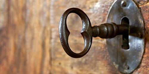 старинный ключ