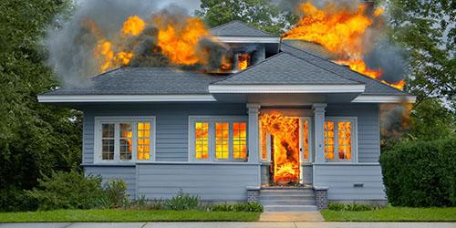 к чему снится огонь в доме