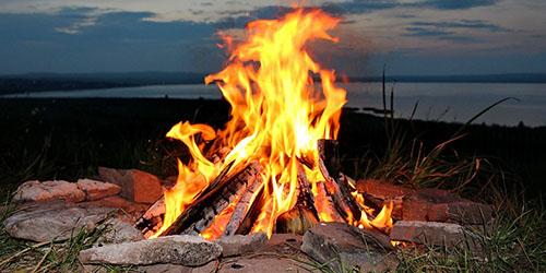 приснилось разводить огонь