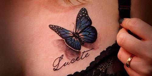 приснилась татуировка бабочка