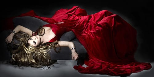 сонник красное платье