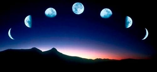 несколько лун во сне