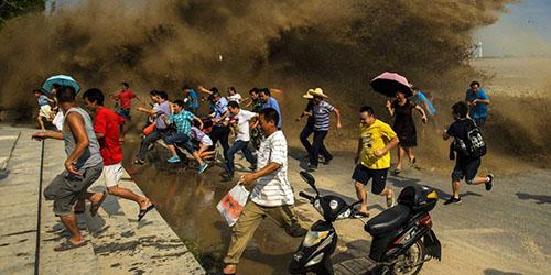 приснилось убегать от цунами