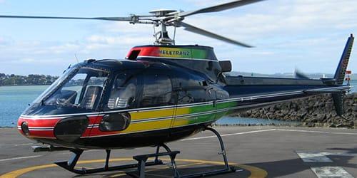 вертолет на площадке