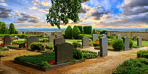 приснилось старое кладбище