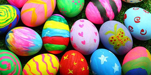 приснились пасхальные яйца