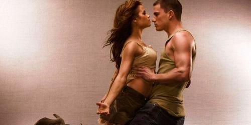 танец с мужчиной