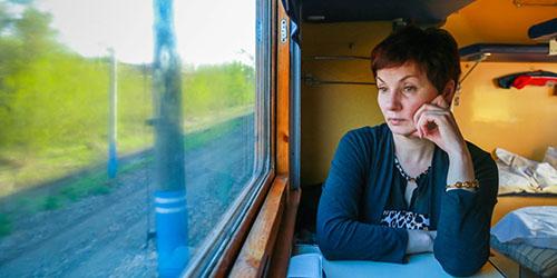 ехать в поезде во сне