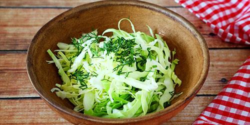 к чему снится салат из капусты