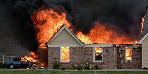 видеть во сне пожар в доме