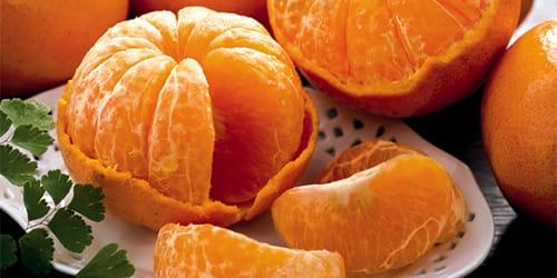 чищенные мандарины во сне