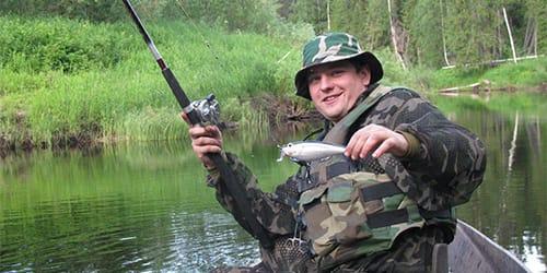 Когда ловится рыба на удочку