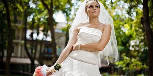 белом свадьбой я перед чему платье к в снится