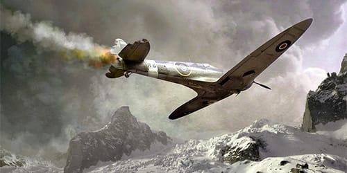 сонник падает самолет