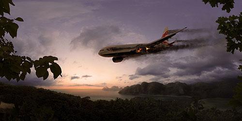 к чему снится падающий пассажирский самолет