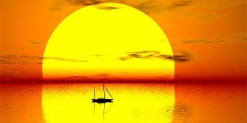 к чему снится солнце