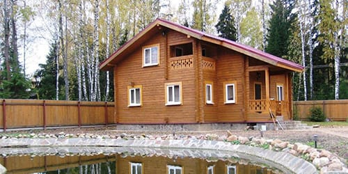 к чему снится деревянный дом