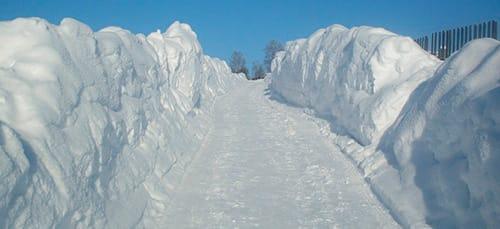 сонник снег сугробы