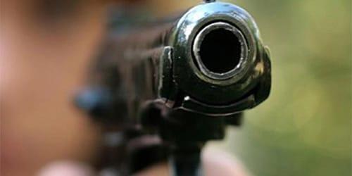 дуло пистолета