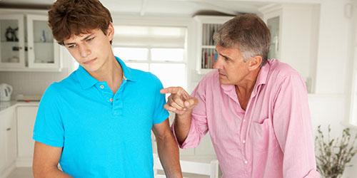 Ссора с умершим отцом