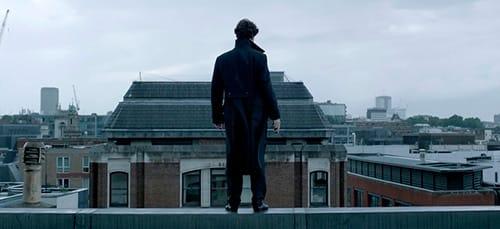 Шерлок на крыше
