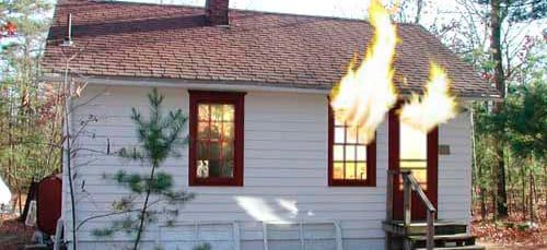 пожар в чужом доме