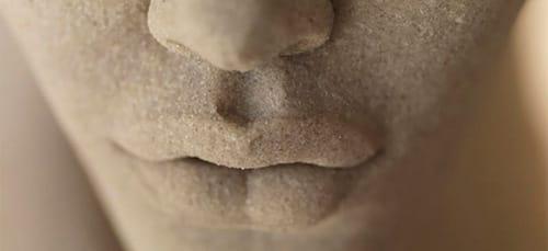 песок во рту
