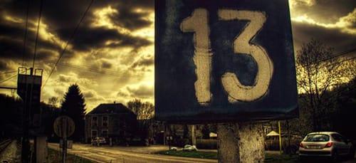 число 13 во сне