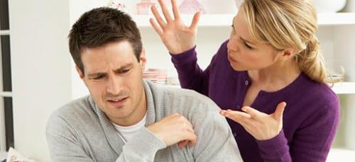 ссора с женой