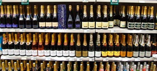 покупать шампанское