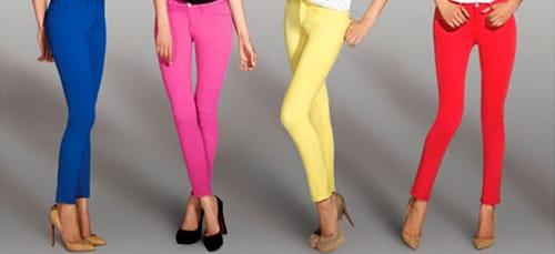 цветные брюки