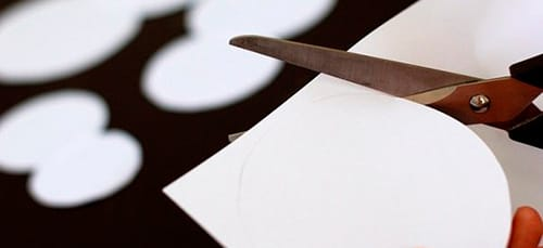 вырезать из бумаги во сне