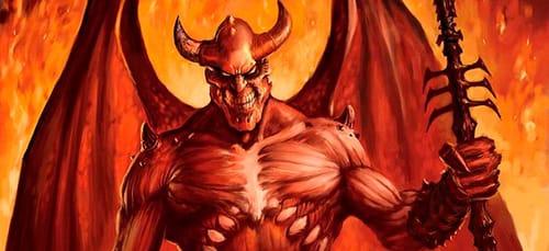 Если дьявол в сновидении вселился в человека