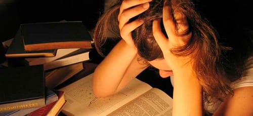 провалить экзамен