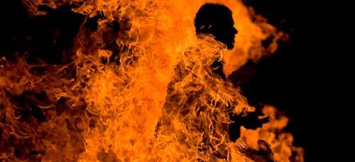 к чему снится что горит дом