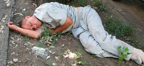 пьяный покойник