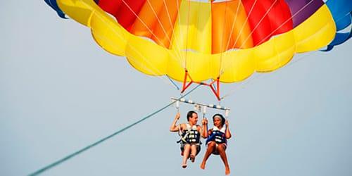 полет на парашюте во сне
