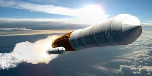 полет на ракете