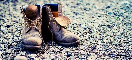 старые ботинки во сне