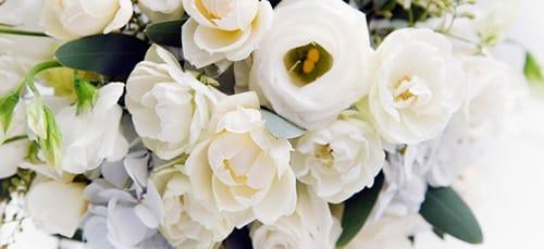 к чему снится букет белых цветов