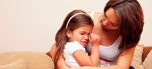 дочка плачет во сне