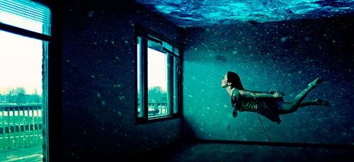 город под водой во сне