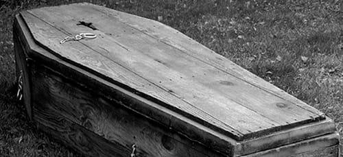 сонник закрытый гроб