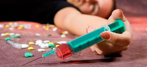 наркоман во сне