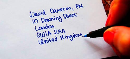 к чему снится подписывать открытку