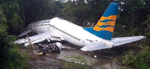 к чему снится разбился самолет